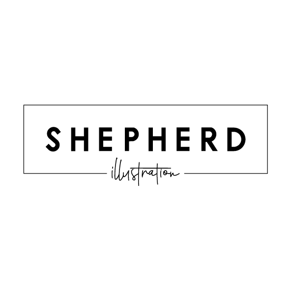 Shepherd Illustration Image